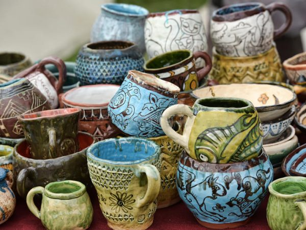ceramic-cups-bowls-funny-drawings-clay-pots-jugs-sale-59077202